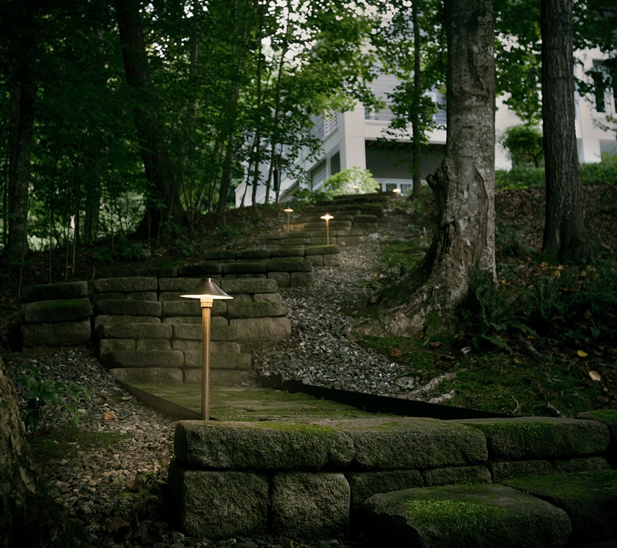 Landscape Lighting for Stairs