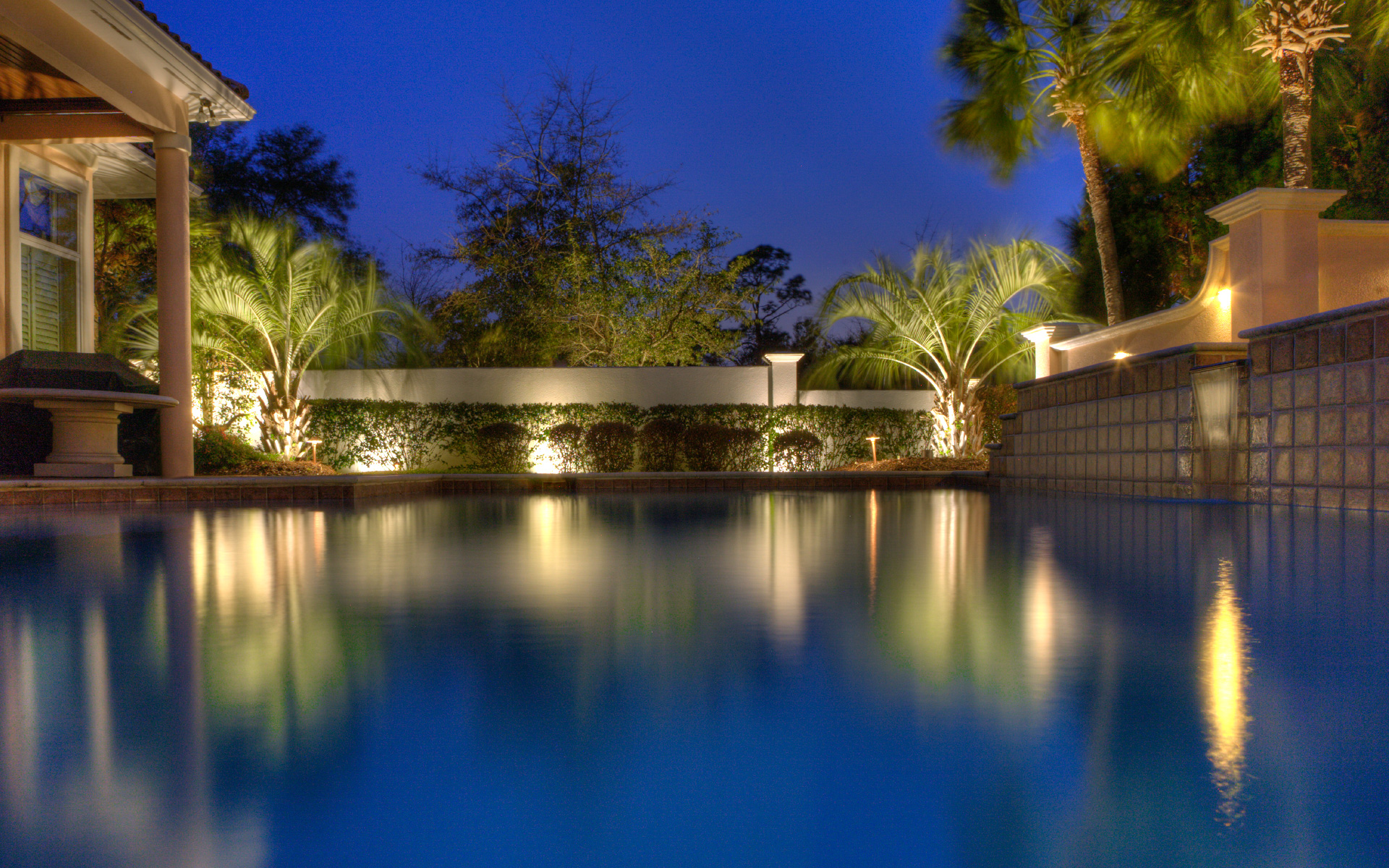 Custom Landscape Lighting Design In
