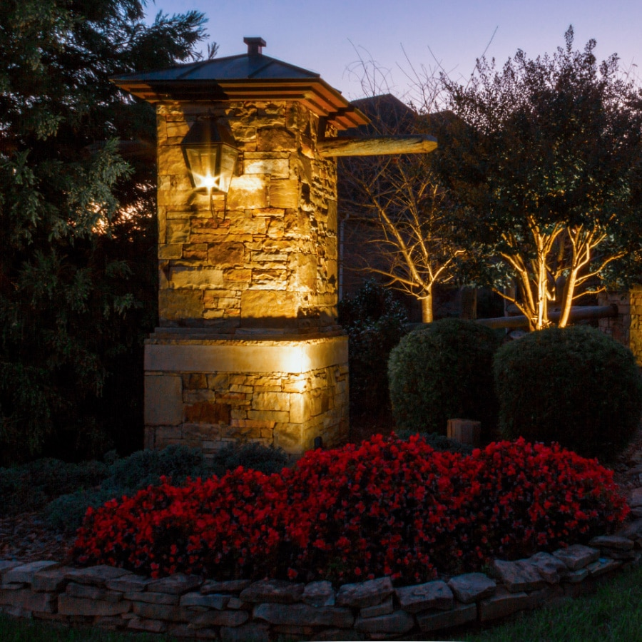 Commercial outdoor lighting custom landscape lighting in nc get started aloadofball Image collections